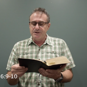 Thursday, May 26 – A Message from Pastor Tim
