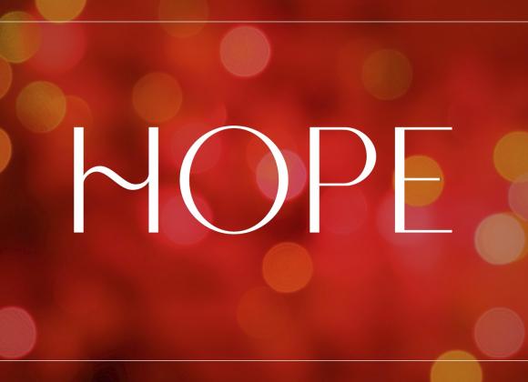 Advent Week 1 – Hope