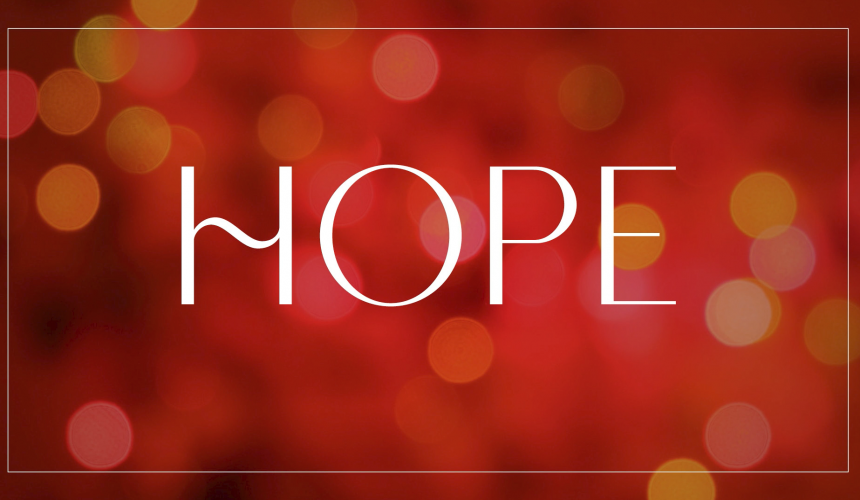 Advent Week 1 – Hope